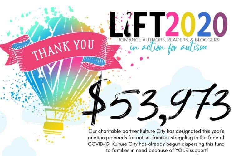Lift 2020 total raised is $53,973!